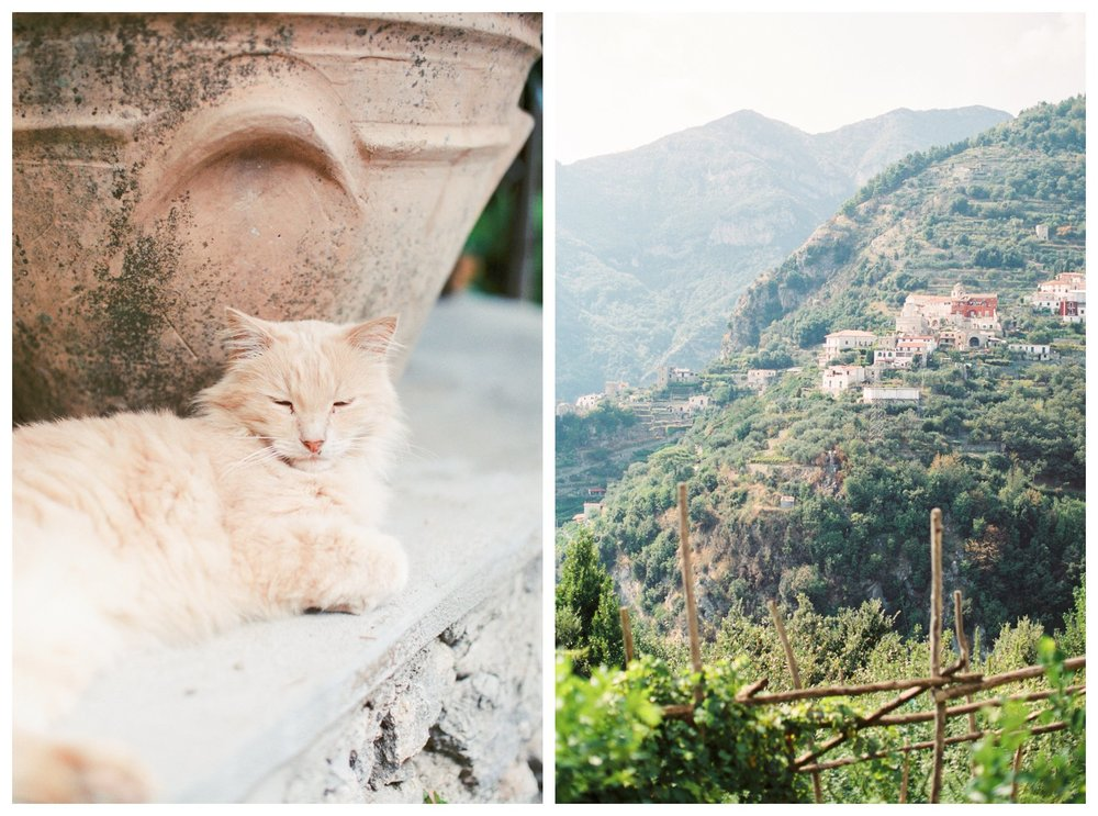 fine art travel photography of Ravello, Amalfi Coast