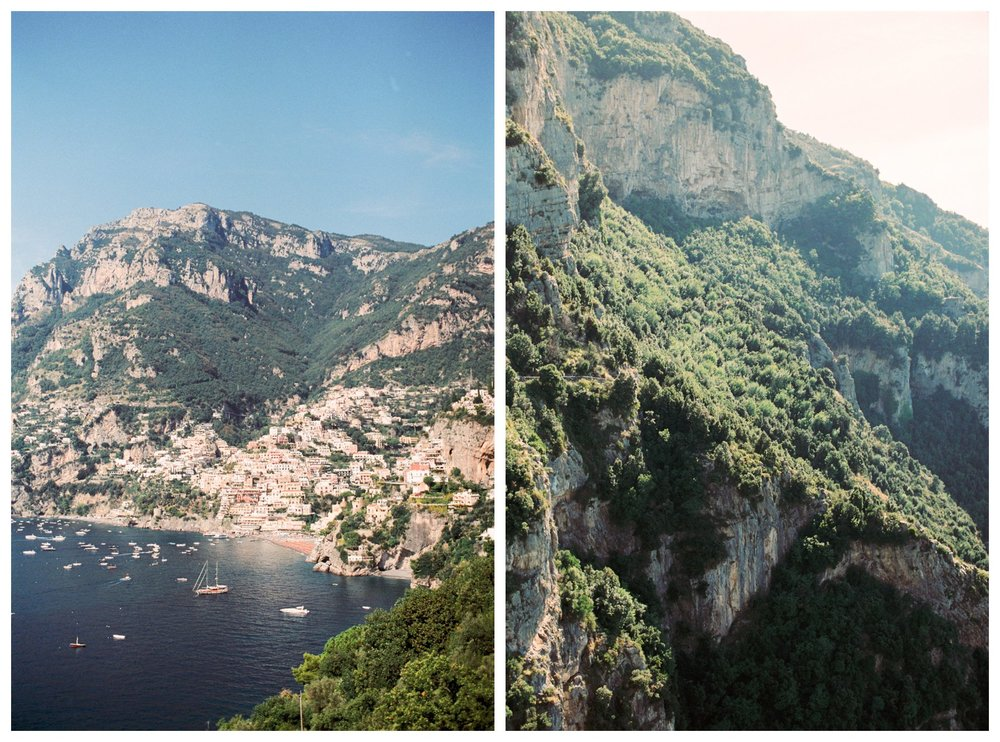 fine art travel photography of the Path of the Gods along the Amalfi Coast