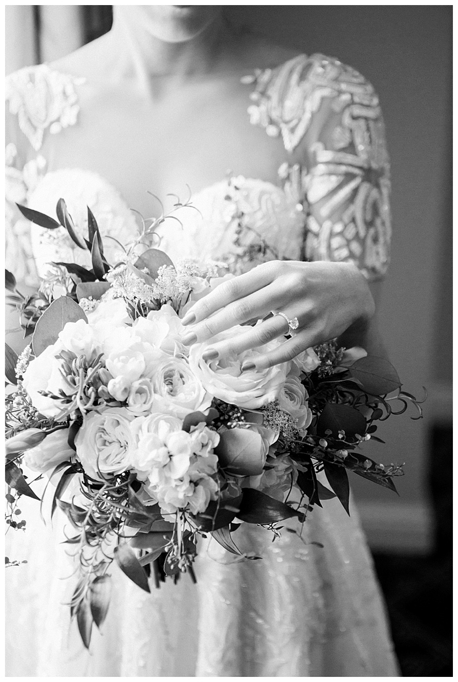 fine art photography of bride getting ready at the Palmer House, Chicago