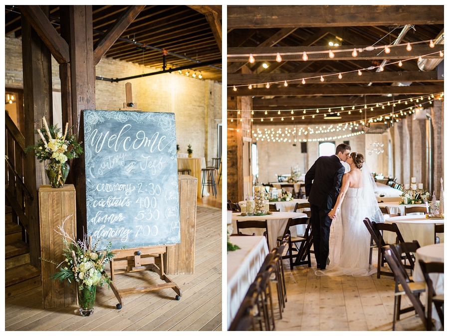 fine art photography of bride and groom for their historic warehouse wedding at the Lageret