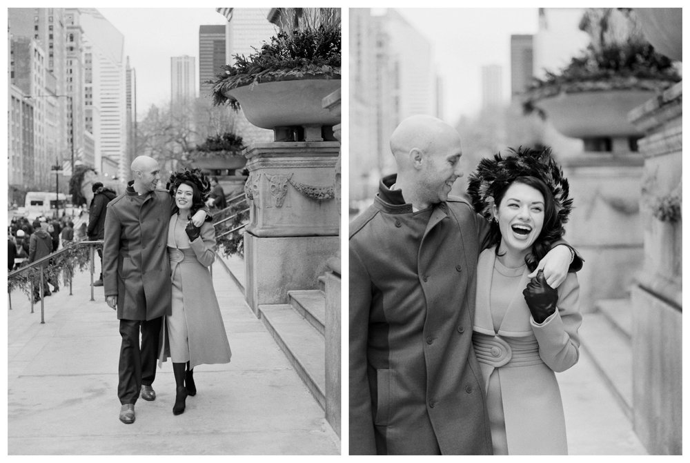 fine art wedding photography at the Art Institute of Chicago