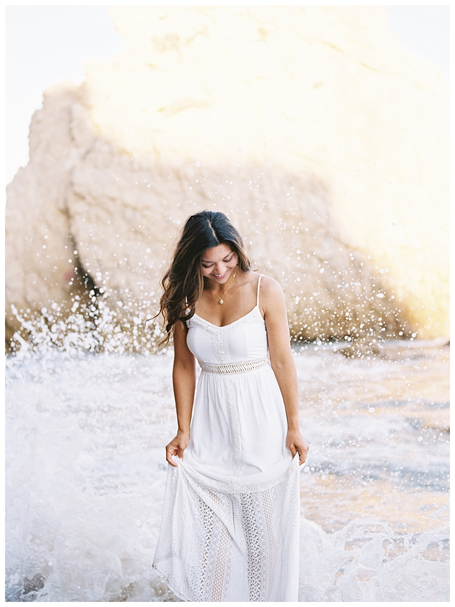 destination fine art wedding photography in Malibu, California