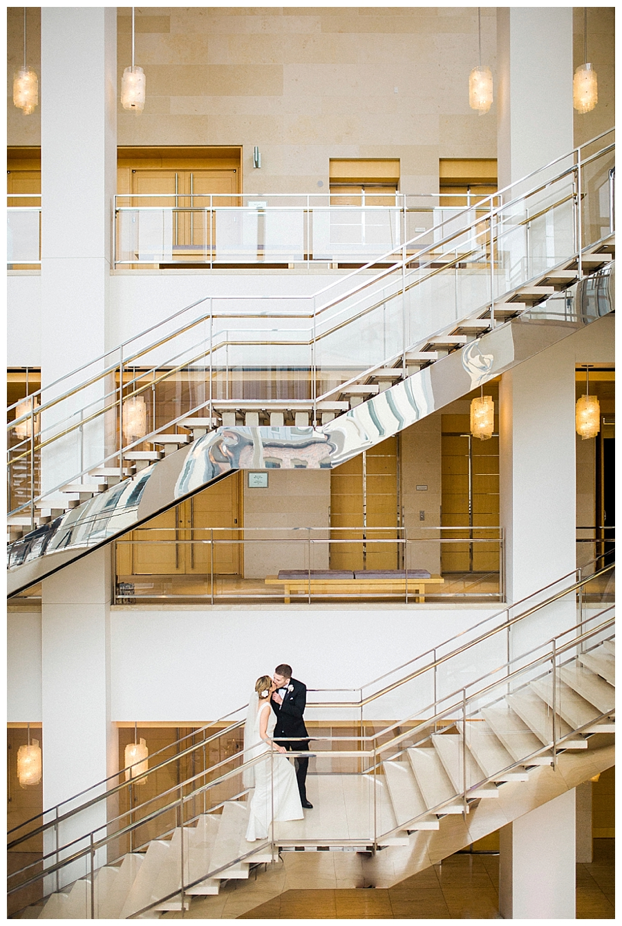 fine art wedding photography at the Overture Center for the Arts in Madison, Wisconsin