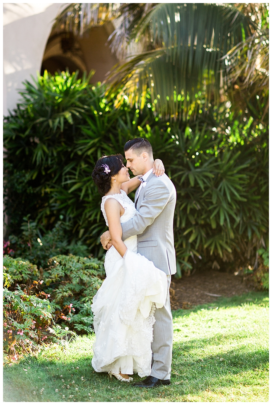 destination fine art wedding photography at Balboa Park in San Diego, California