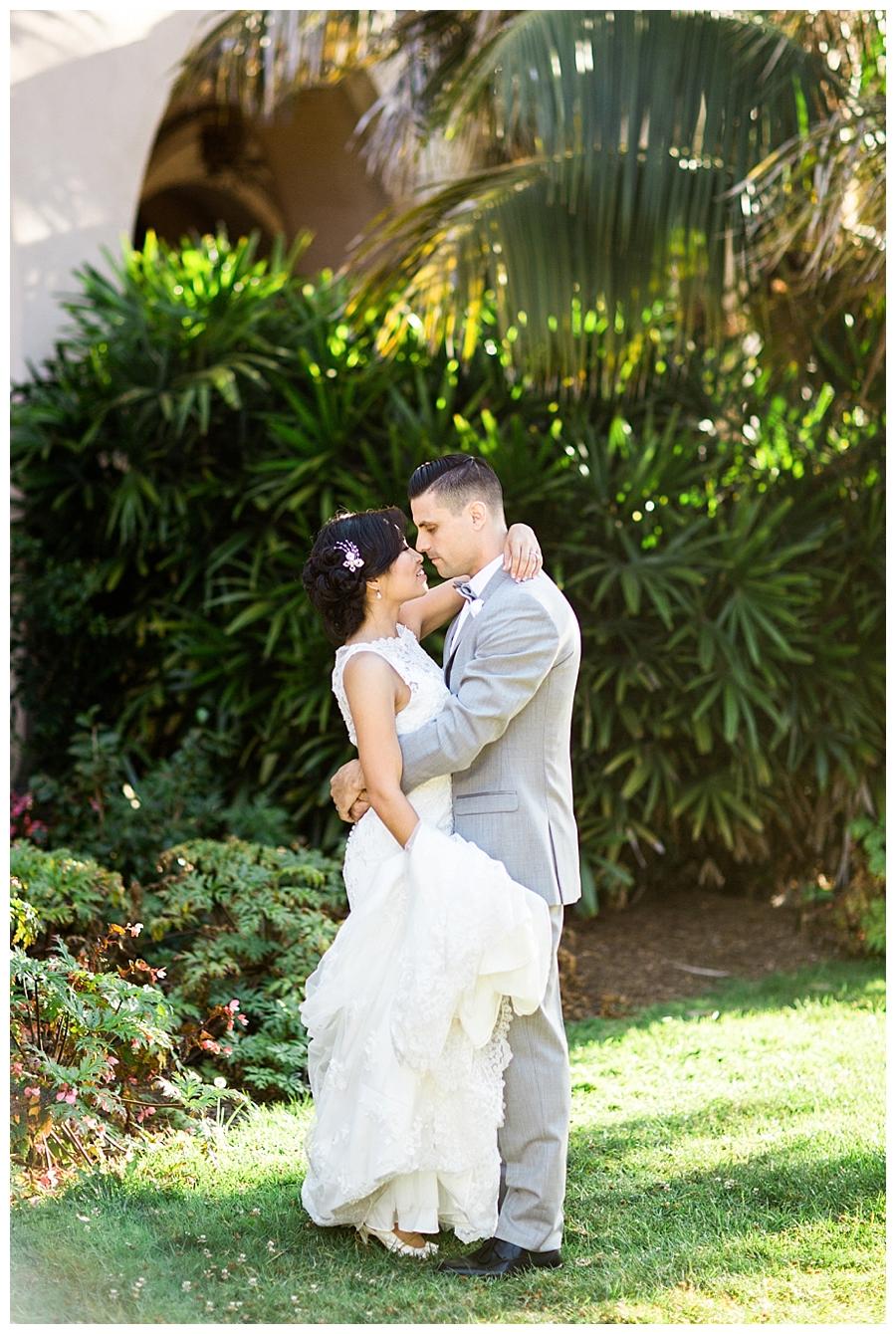 destination fine art wedding photography at Balboa Park in San Diego, California