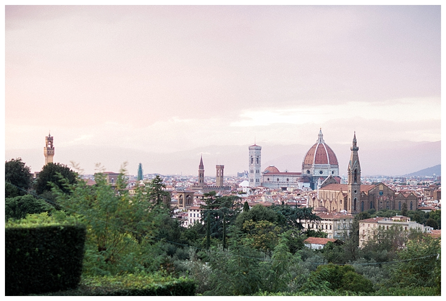 luxury destination wedding at Villa La Vedetta in Florence, Italy
