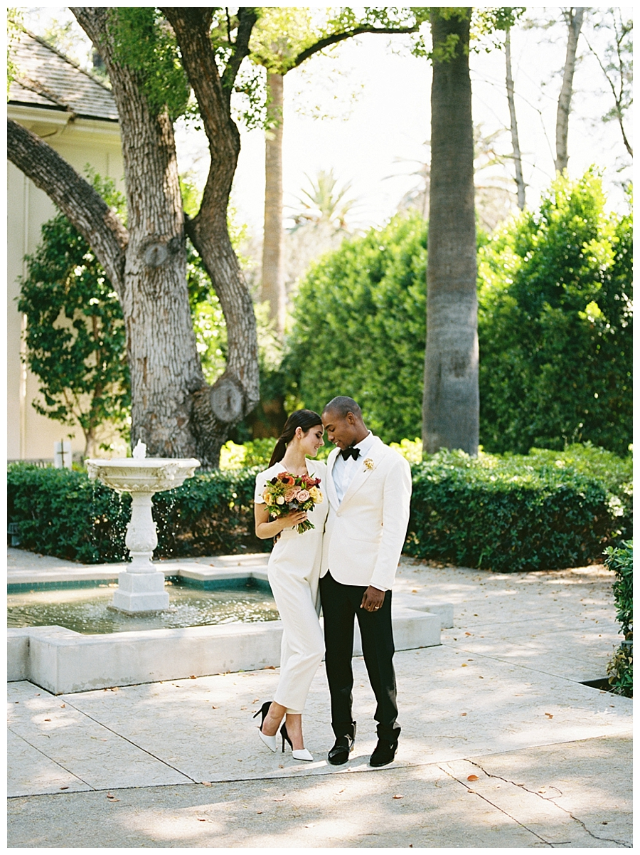 destination estate wedding at the Fenyes Estate in Pasadena California