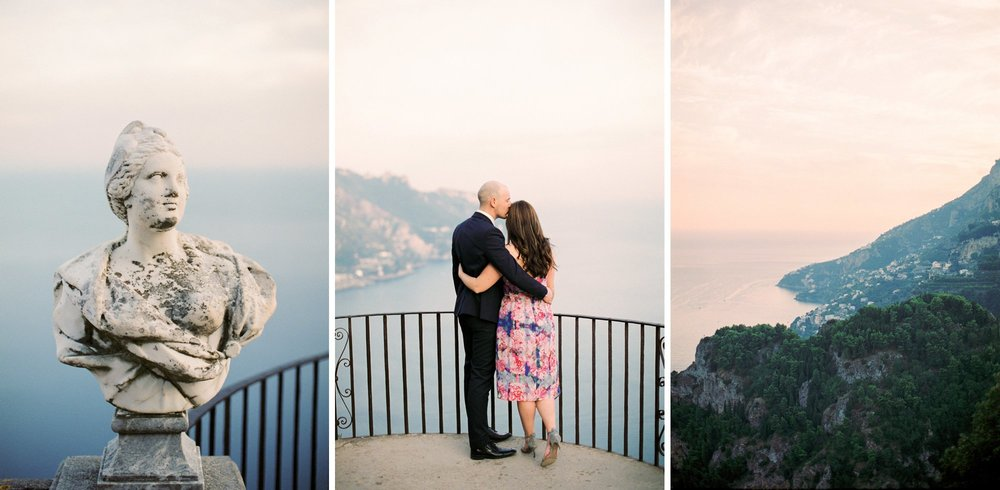 Amalfi Coast engagement session