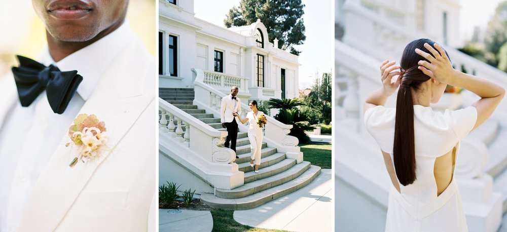 California luxury estate wedding