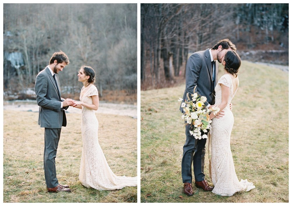 Catskills destination elopement