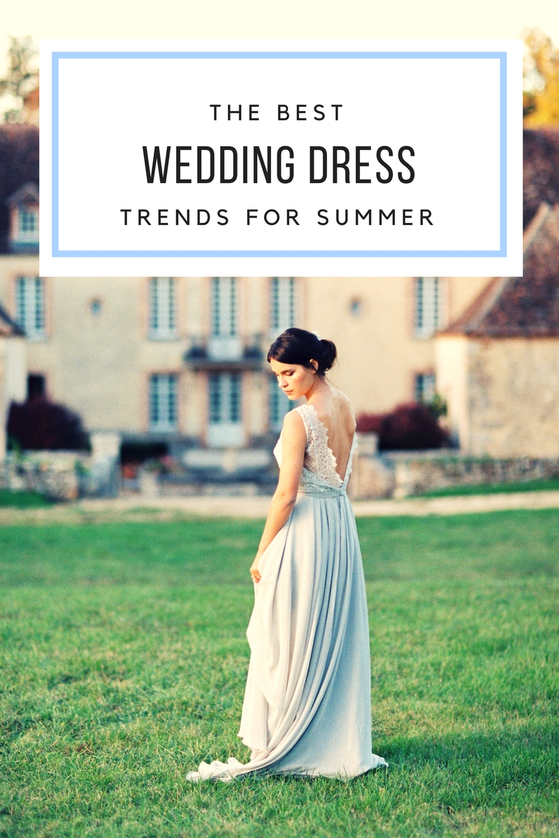 top wedding dress trends for summer brides