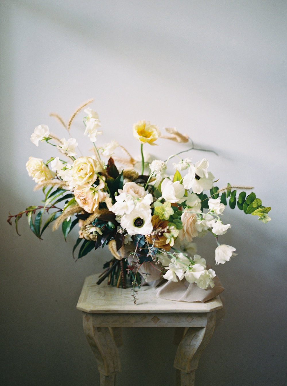 fine art floral design by Kelly Lenard at Foxfire Mountain House