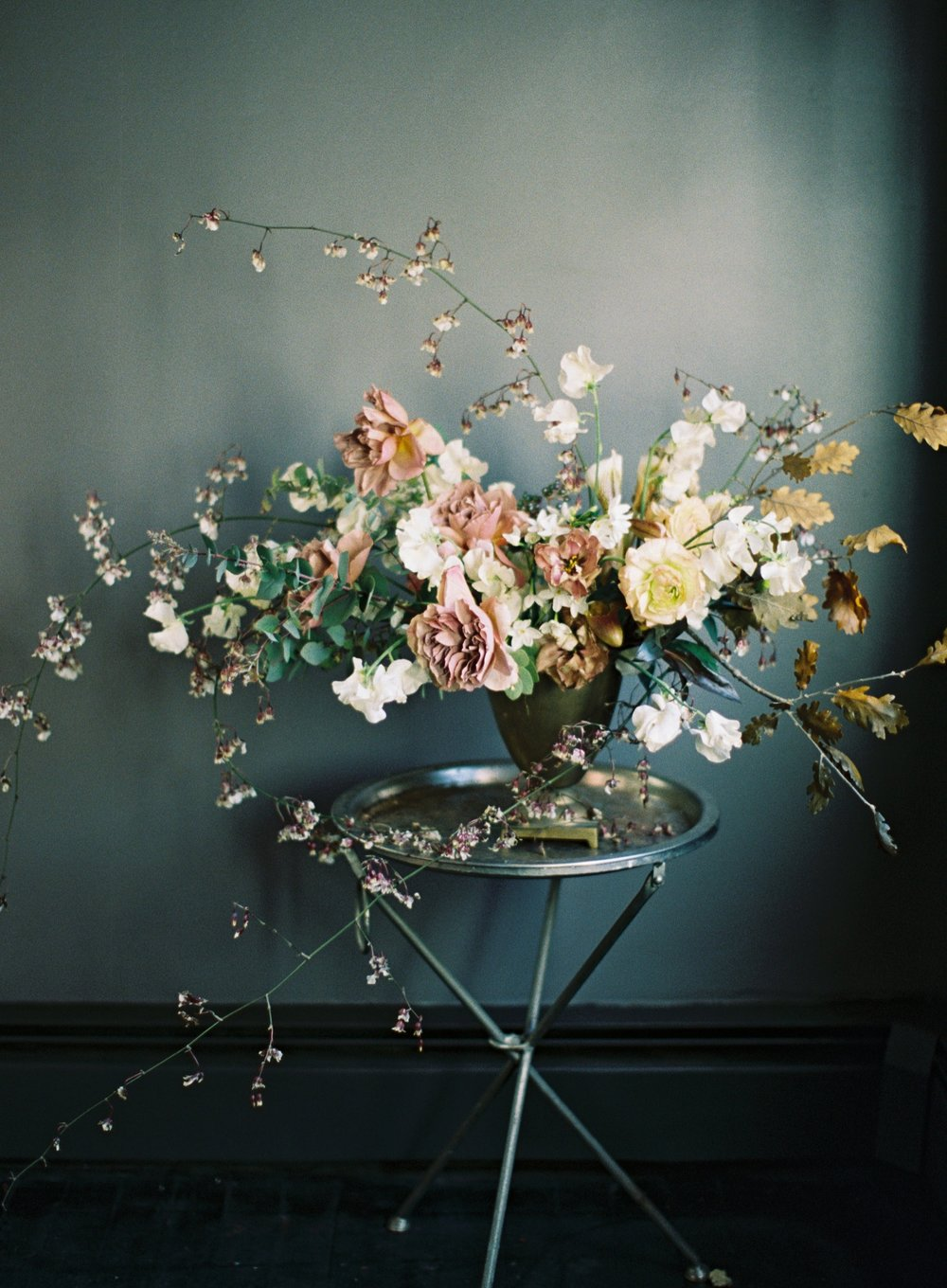 ikebana floral arrangement by Kelly Lenard