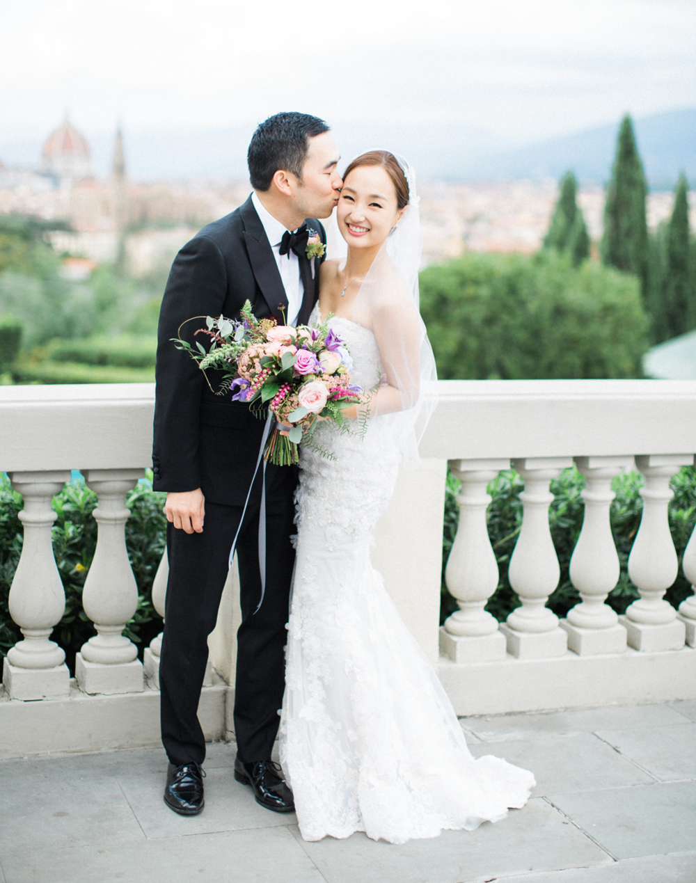 Romantic Wedding at a Tuscan Villa →  -