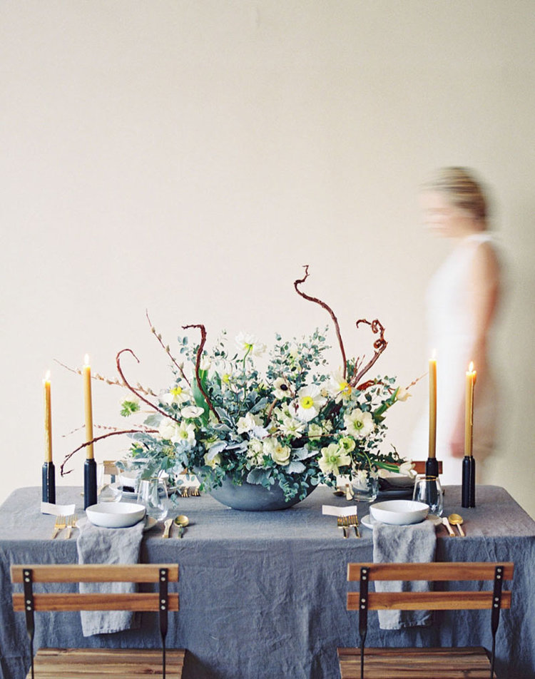 Spring Renewal Wedding Inspiration →  -