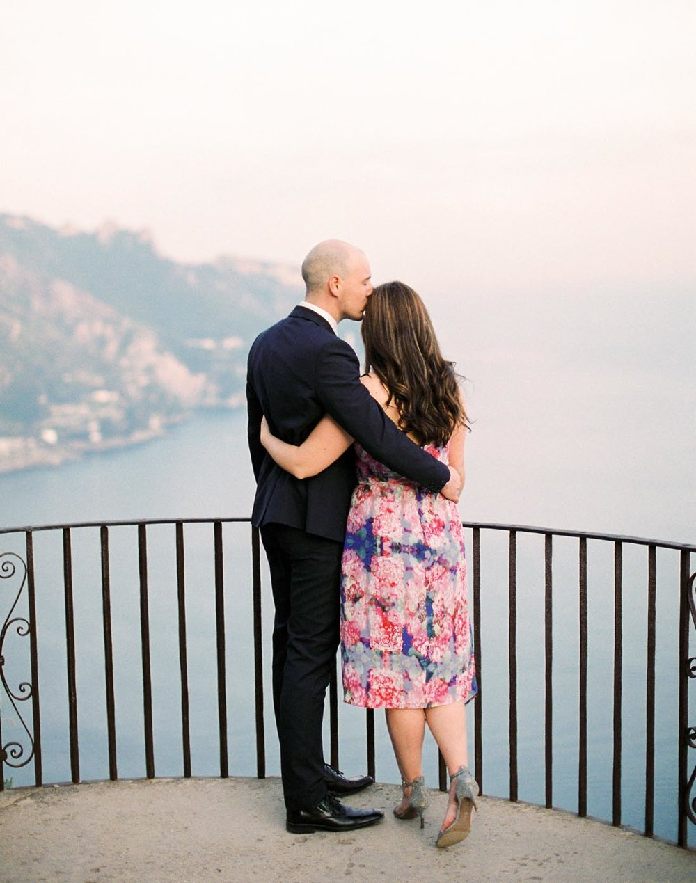 Amalfi Coast Anniversary Session →  -