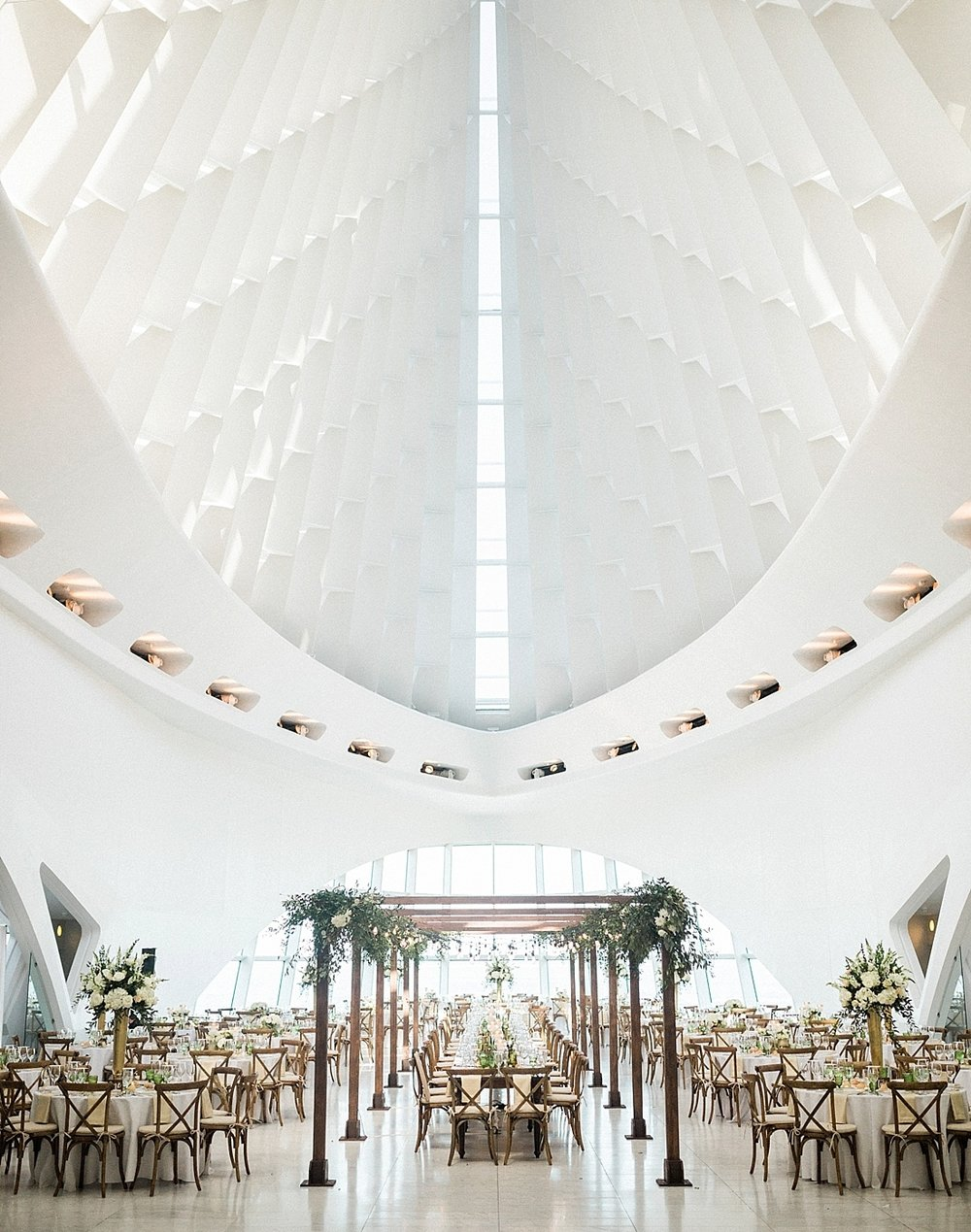 Milwaukee Art Museum Wedding →  -