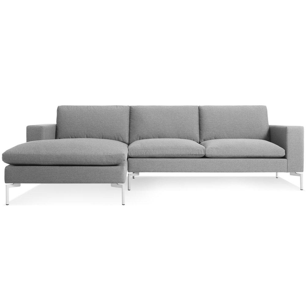 New Standard Sofa With Chaise By Blu Dot U2014 Hub Modern Home + GiftPost U2014 Hub  Modern Home + Gift