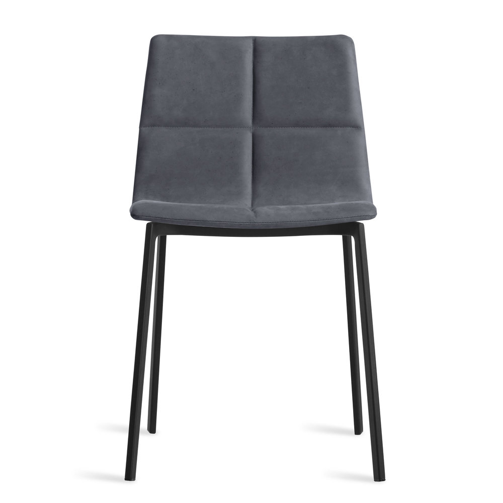 Between Us Leather Dining Chair By Blu Dot