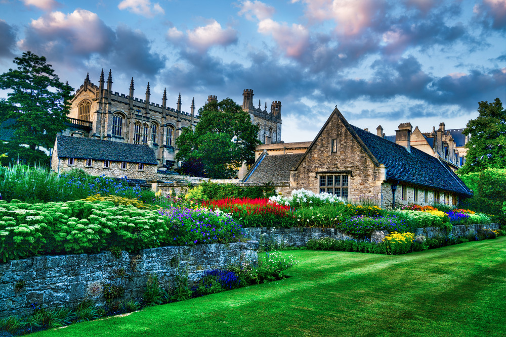 Christ Church Cathedral/College, Oxford, England, UK