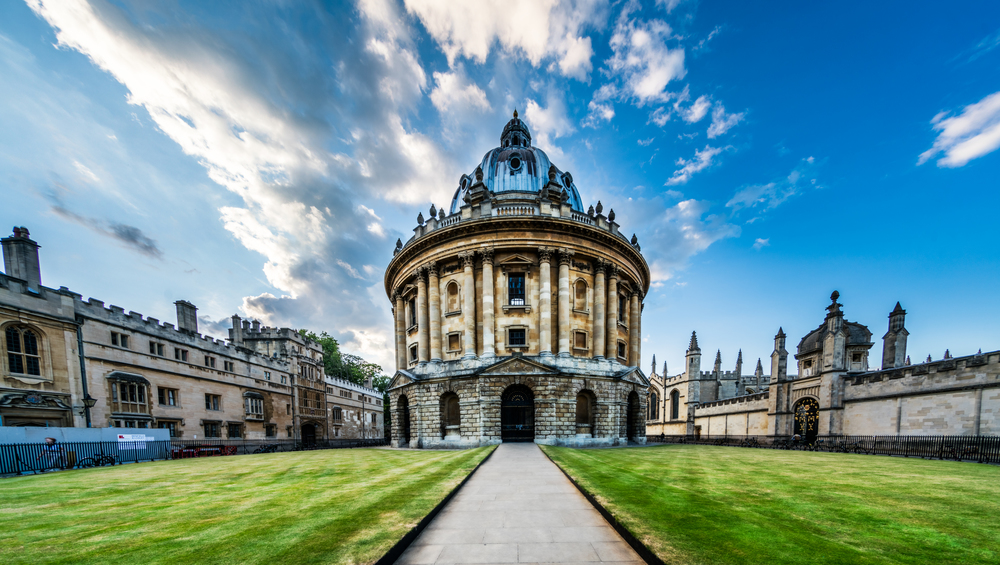 Radcliffe Camera, University of Oxford.