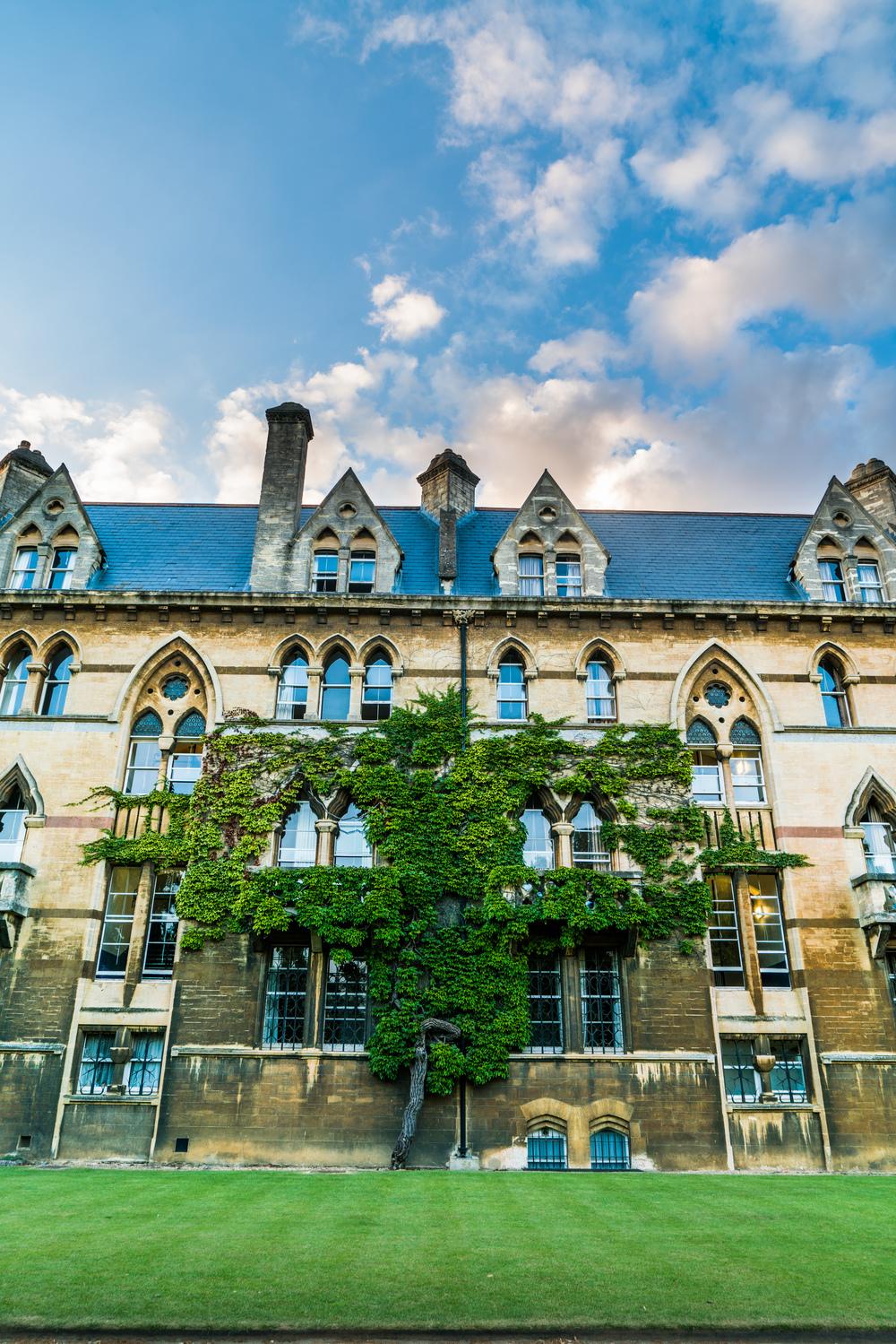 Christ Church College, Oxford, England, UK