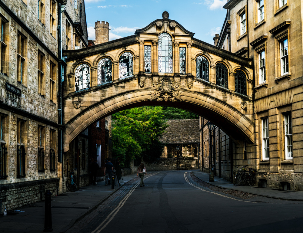 Bridge of Sighs, Oxford, England, UK