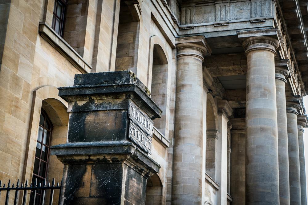 Broad Street, Oxford, UK