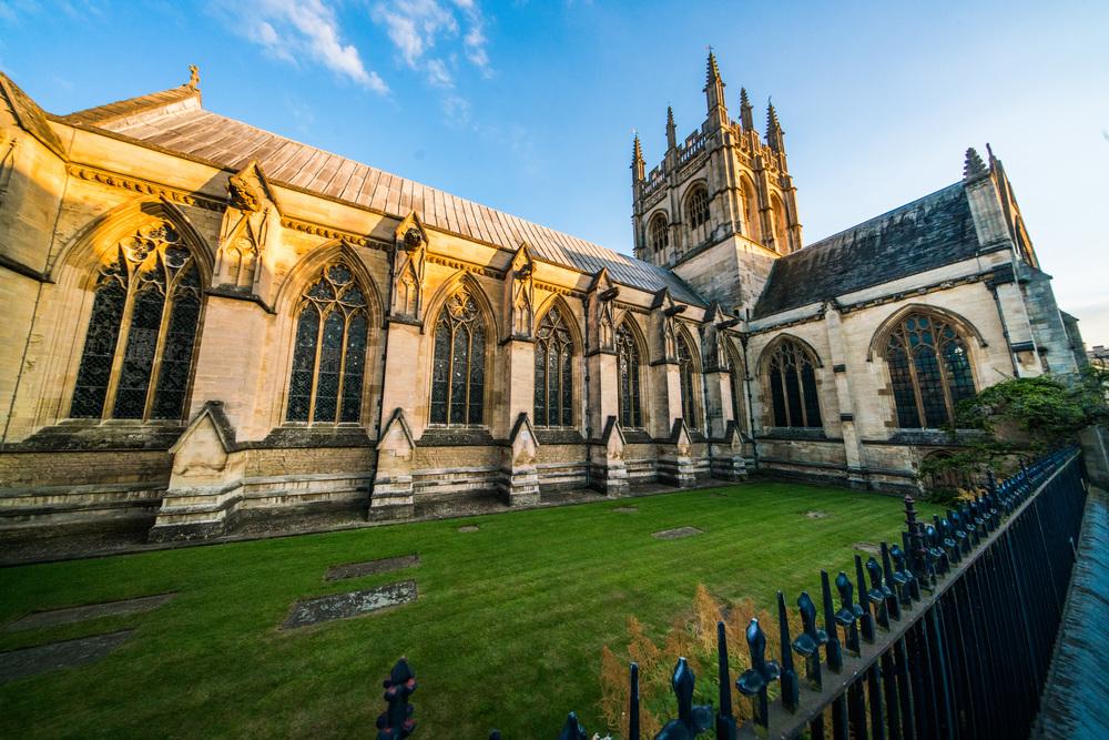 Merton College Chapel, Oxford, UK