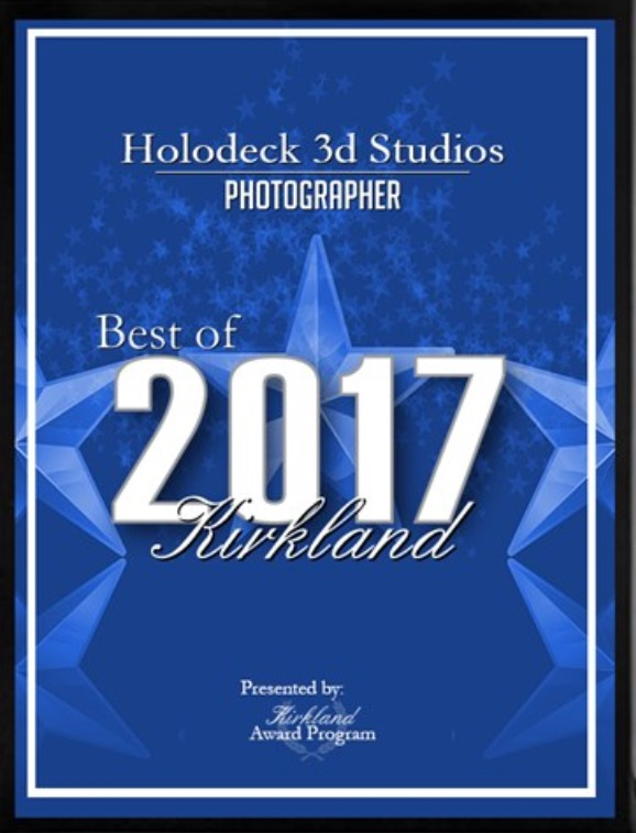 2017 Best of Kirkland Photographer -