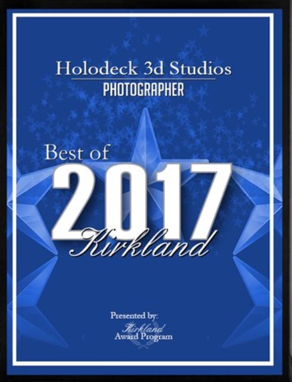 2017 Best of Kirkland Photographer -
