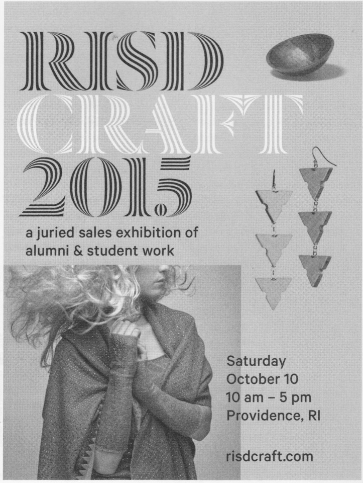 RISD sale press image in American Craft Magazine