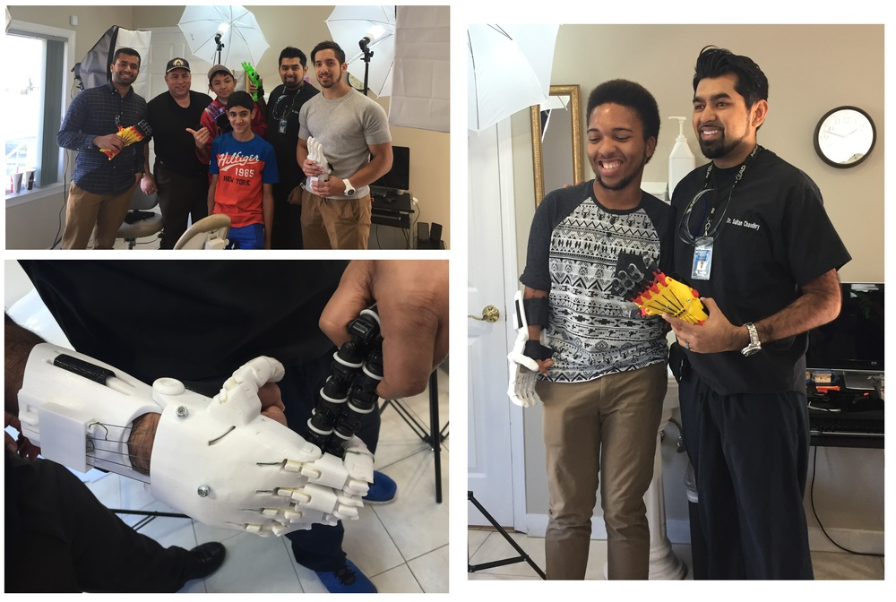 Connecting patients to providers utilizing 3-D Printer Technologies to fabricate hands for absolutely no cost