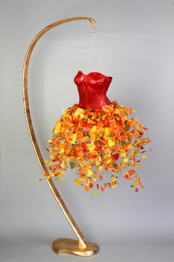 Suspended Paper Dresses - Click image to go to gallery