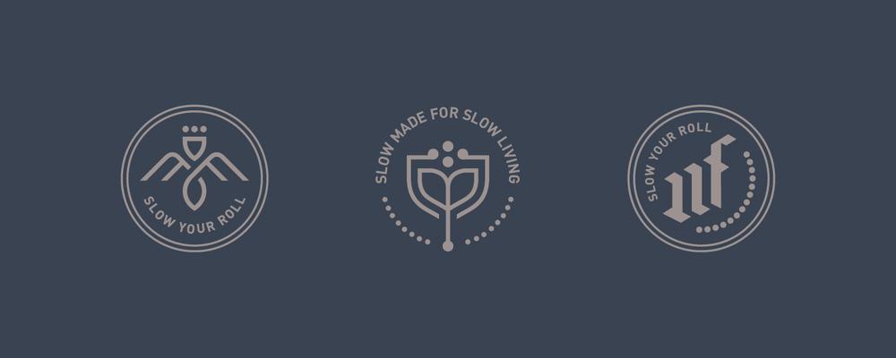 Mama Flowers visual identity secondary marks