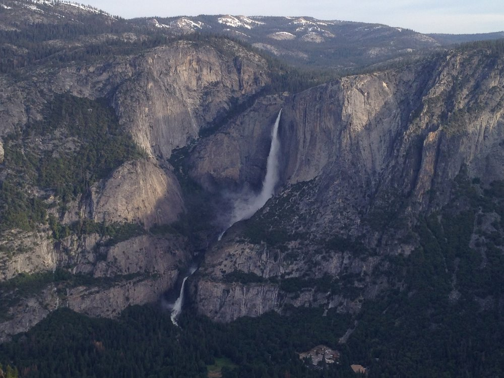 Yosemite Falls - June 2017 - Yosemite Falls Upper and Lower viewed from Glacier Point
