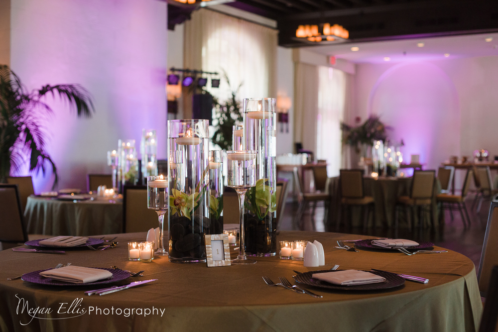 Key West Wedding Uplighting
