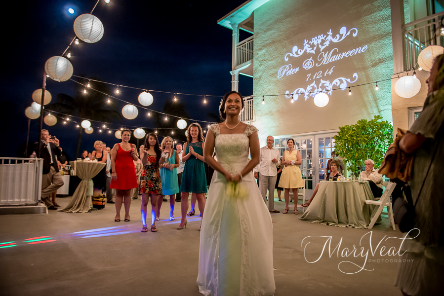 Key West Wedding Monogram