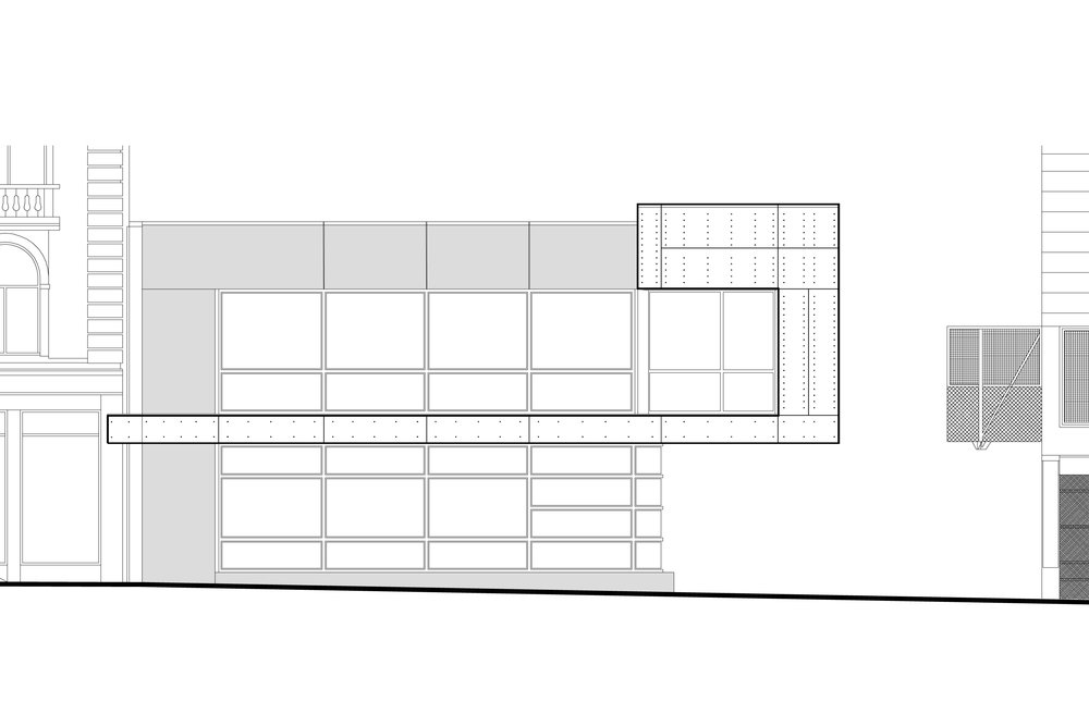 32 Cuba Street - Kate Sylvesters - Elevation Drawing