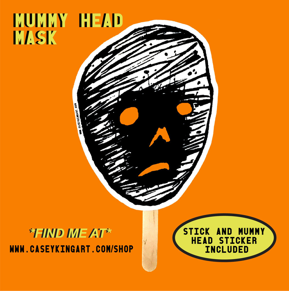 CASEY KING ART MUMMY HEAD MASK AD.jpg