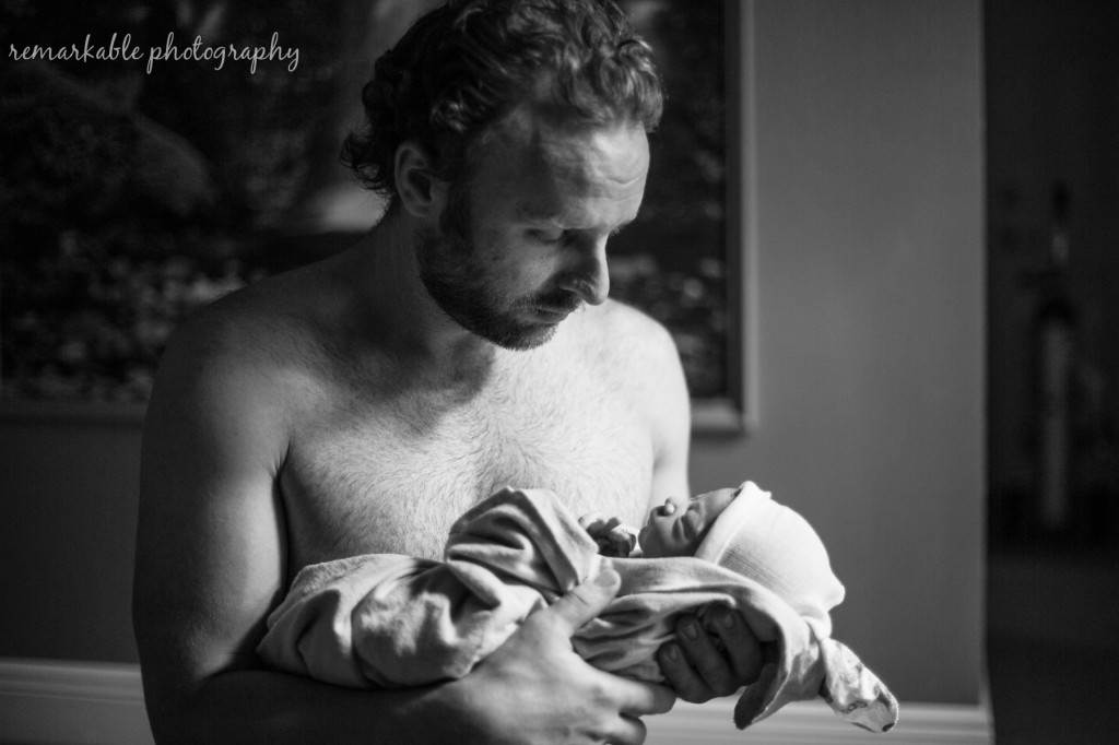 Tampa Birth Center Photography: Baby Kealan