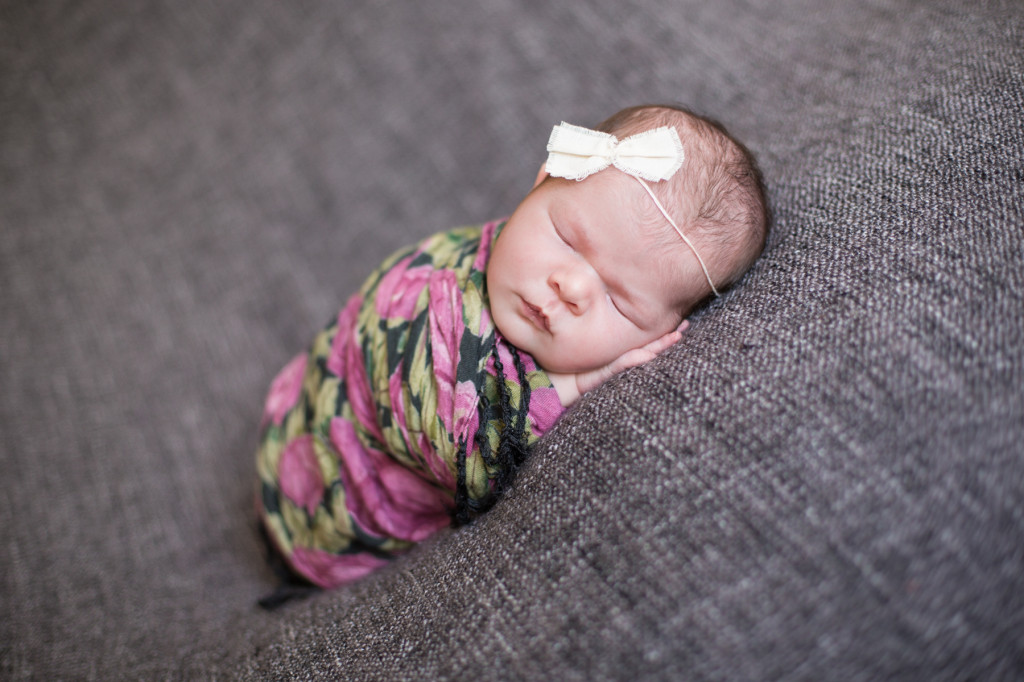 Dade City Newborn Photography: Baby Camelia