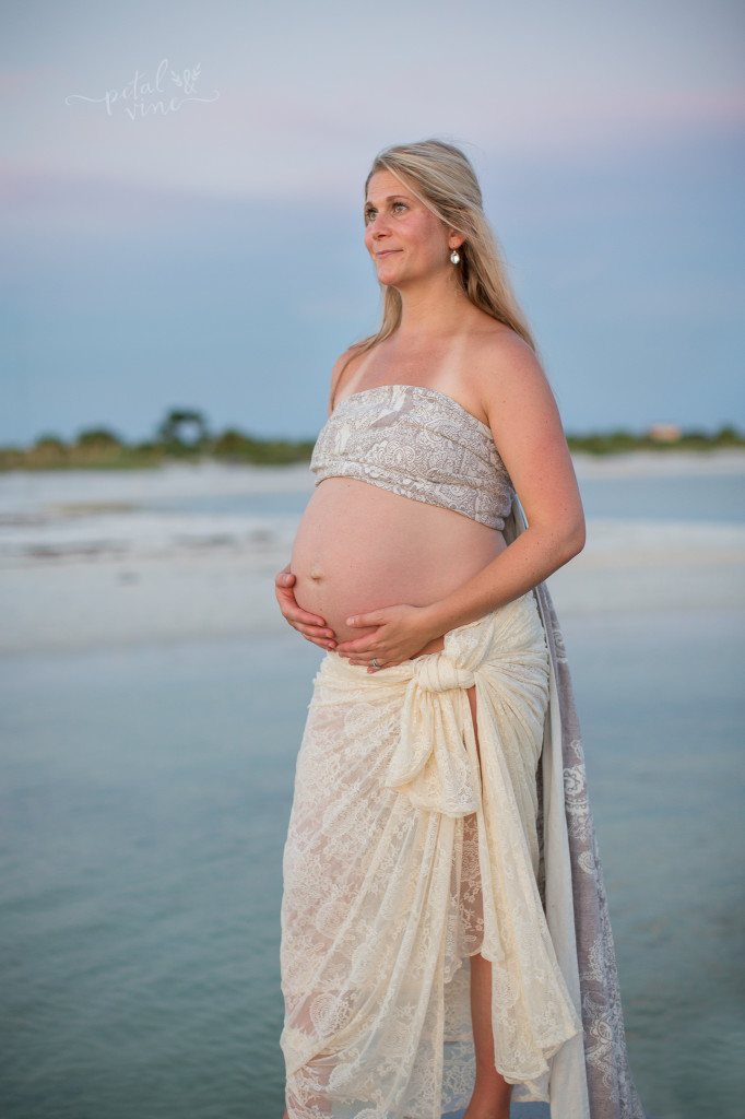 Tampa Maternity Photography : Sunset Yoga