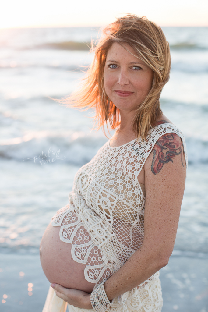 Tampa Beach Maternity Photographer: Mama Laura