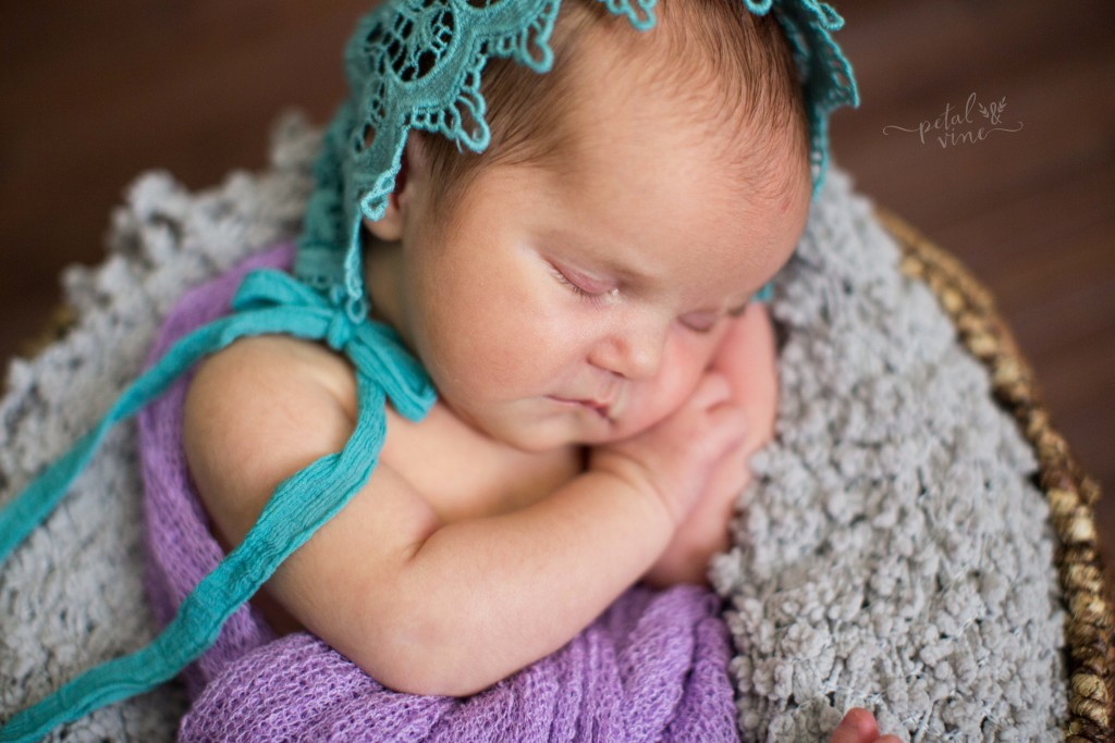Winter Haven Newborn Photographer: Baby Emma