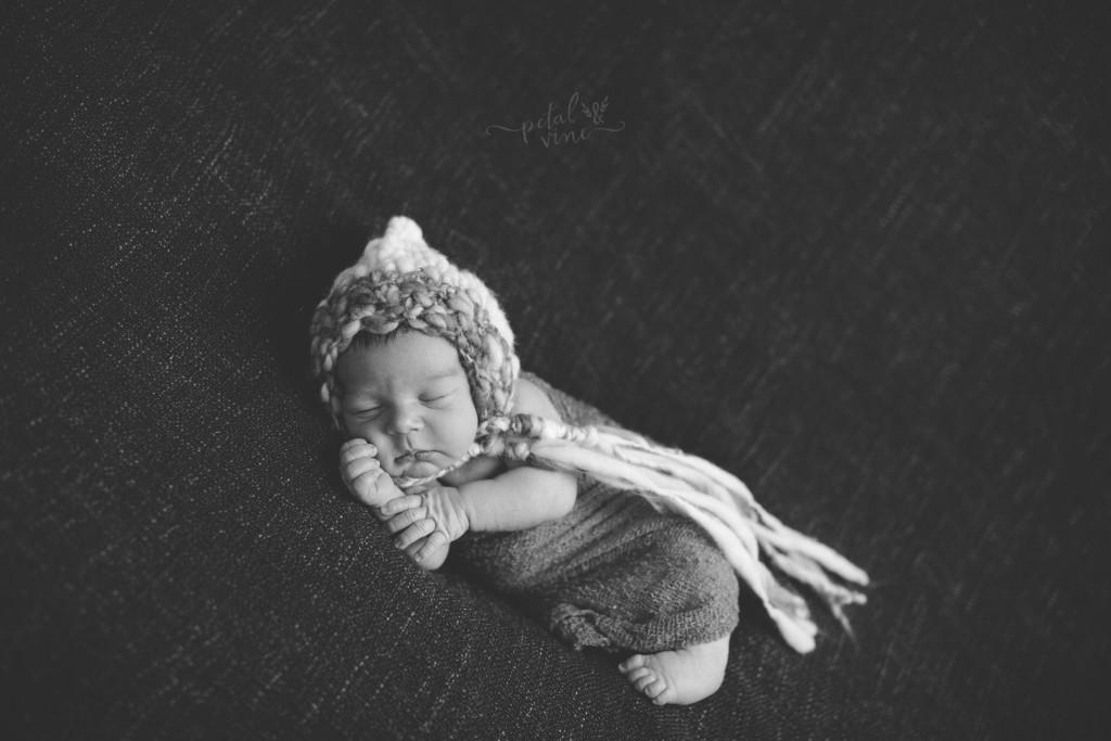 Davenport Newborn Photographer: Baby Rafael
