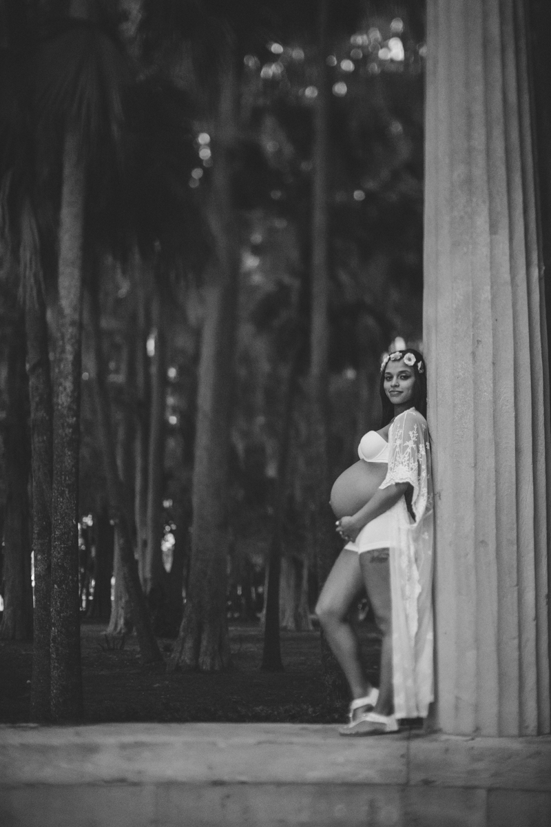 winter park maternity photography