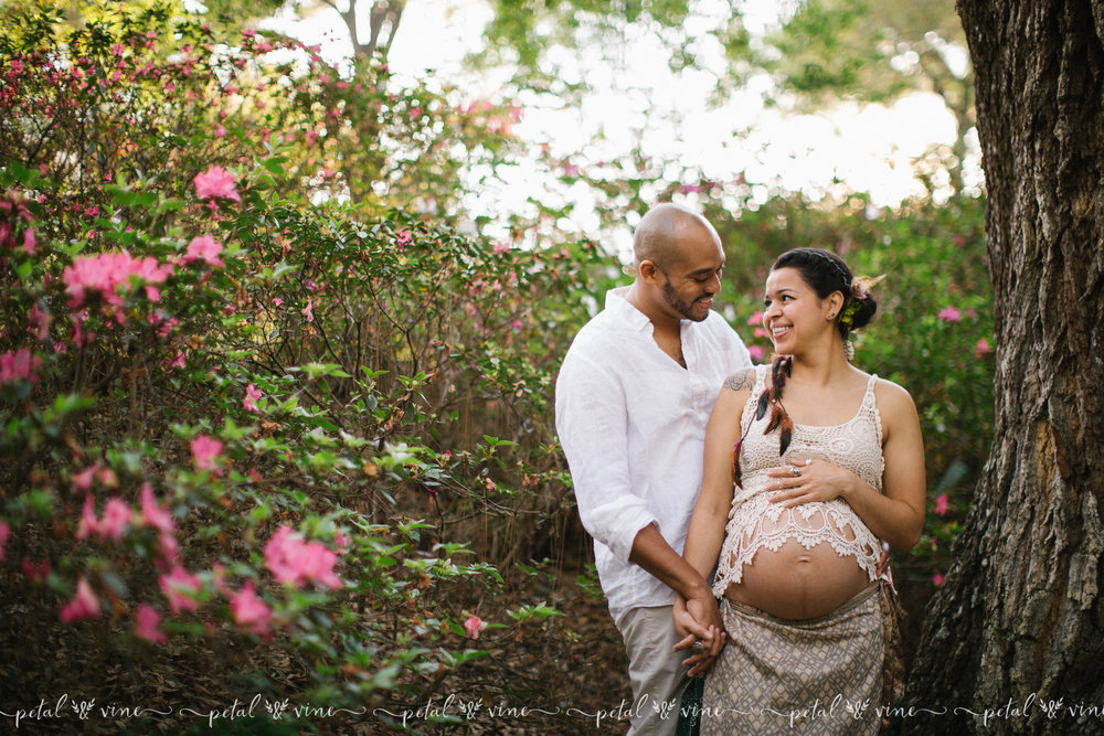 orlando outdoor maternity photography