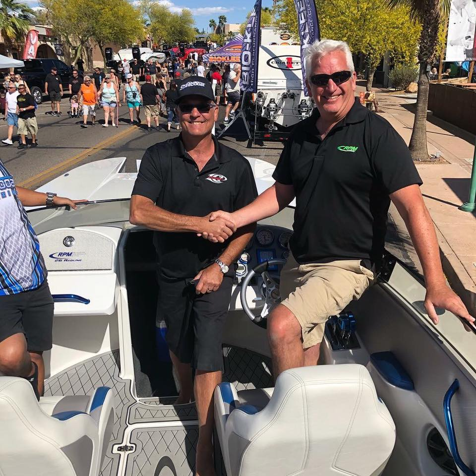 Chris Camire and Joe Malich at Desert Storm 2018 in Lake Havasu