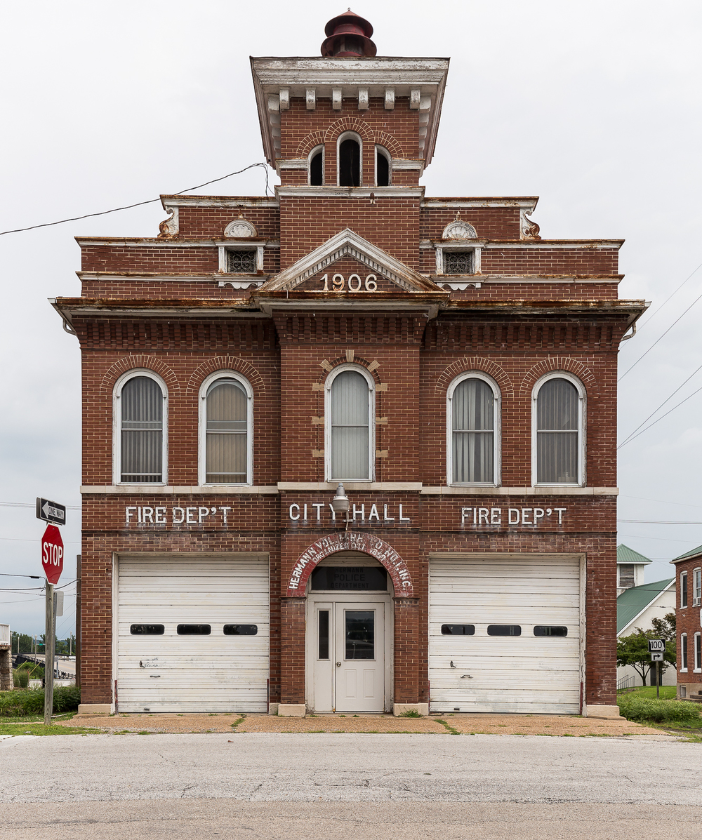 Cool old firehouse.